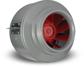 "VORTEX V 12XL, Inline Round Centrifugal Fans 12"", 115V/1PH/60Hz, 2050 CFM"