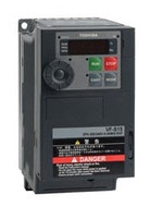 Toshiba VFS15-4007PL-W, VFD S15 Drive, 460V Three Phase Input & Output, 1HP, 23AMPS