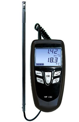 E Instruments VT 100S (16424), Thermo-Anemometers