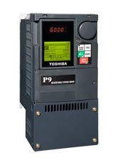 Toshiba VT130P9U4055, VFD P9 Drive, 460V, 5HP, 76VAC, Frame-3