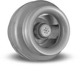 """VORTEX VTX 1000, Inline Round Centrifugal Fans 10"""", 115V/1PH/60Hz, 790 CFM"""