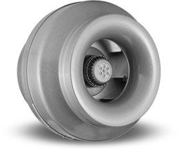 """VORTEX VTX 1200L, Inline Round Centrifugal Fans 12"""", 115V/1PH/60Hz, 820 CFM"""