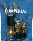 """Imperial Stride Tool 142-F, Test Plug Kit for 1/2""""h, 5/8""""h & 7/8""""h OD Tubing"""