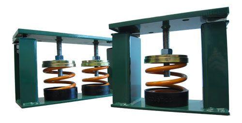 Vibro Acoustics CSR-SA-130, 1 (25 mm) Deflection CSR Restrained Spring Isolators, 130 lbs rated load