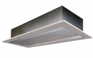 "Mars Air Curtains PH1072-2EHN-PW, Phantom 72"" ElectricHeated, 460V, 3PH, 24kW, Pearl White"