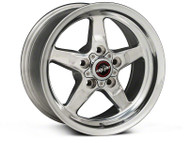 RACE STAR DRAG WHEEL 2005-2014 MUSTANG POLISHED 15X8 DIRECT DRILL 92-580150-DP