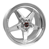 RACE STAR DRAG WHEEL 2005-2017 MUSTANG 17X9.5 DIRECT DRILL 92-795152-DP