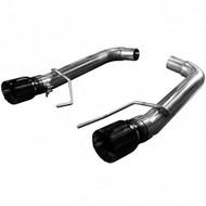 "Kooks Axle-Back Exhaust OEM Inlet to 3"" Muffler Delets and Black Tips (2015-2017 Mustang GT 5.0L Coyote) 11516410"