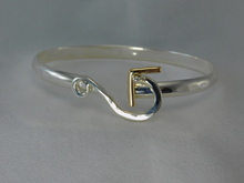 Hurricane Georges, Silver & 14K Gold