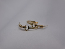 St. Croix Hook Earrings, 14K or 18K Gold, Medium (5¢ size)