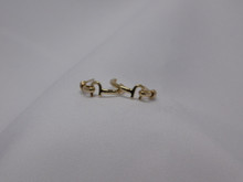 St. Croix Hook Earrings, 14K or 18K Gold, Small (10¢ size)