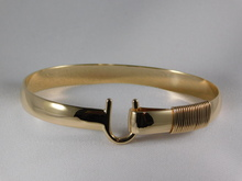 St. Croix Hook Bracelet, 14K or 18K Gold, 8mm
