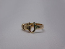St. Croix Hook Ring, 14K or 18K Gold, 6mm