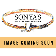 Silver & 14K Sonya's 40th Anniversary Ring, 4mm