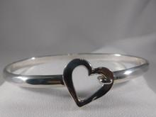 Heart, Silver, 4mm