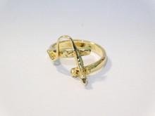 Lizard Ring 14K Gold