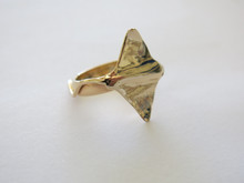 The Ray Ring 14k Gold