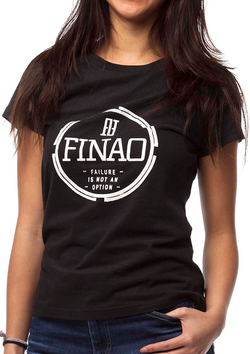 Women's FINAO® Pursuit Tee - Black