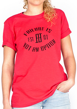 Women's Established Tee - Red