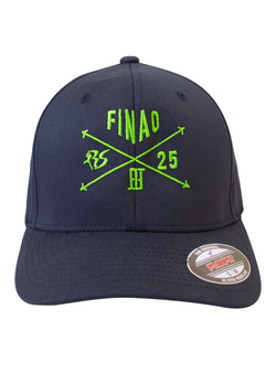 Richard Sherman RS25  FX Flexfit Hat - Blue & Green