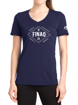 Women's Richard Sherman RS25 Diamond Tee - Navy