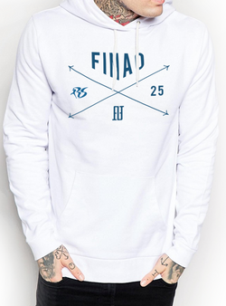 Richard Sherman RS25 FX Hoodie - White