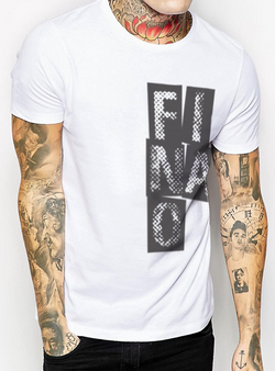 Stack It Up Tee - White