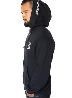 Limitless Zip Hoodie - Black & White