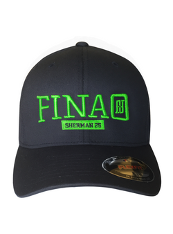 Richard Sherman RS25 FINAO Classic Flexfit Hat - Blue & Green