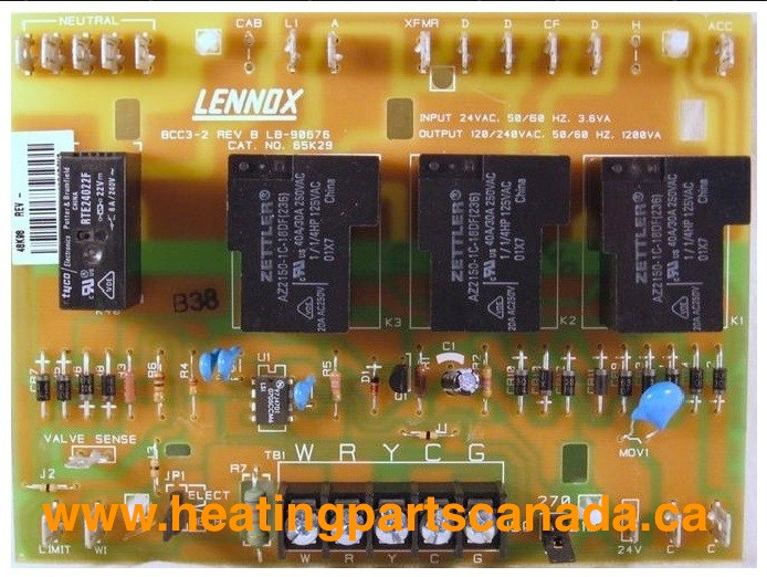Terrific Lennox 48K98 Controlboard Circuit Board Furnace Ottawa Mississauga Wiring 101 Capemaxxcnl