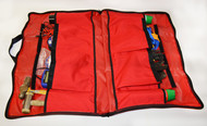 Ferno Harness Gear Bag Electrical - inside with possible contents (not included with bag)
