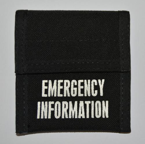 MIR Emergency Incident Card Pouch E