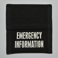 MIR Emergency Incident Card Pouch E