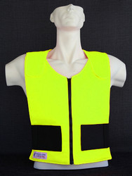 Front Cool Vest Fluro Yellow
