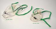 Single Use Elongated Oxygen Masks Adult & Child