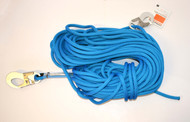 Blue 45 m Donaghys Rope with 2 Small Hooks