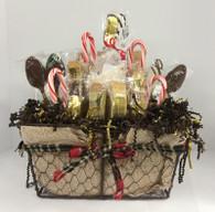 Season's Greetings Biscotti Gift Basket