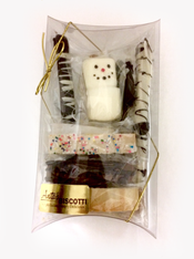 Variety Mini Biscotti Pillow Gift