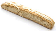 Pina Colada Flavored Biscotti - 50 piece minimum