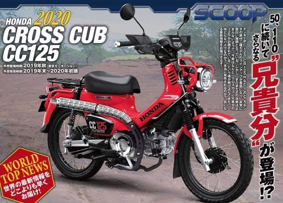 Yuminashi Tuning Parts For Honda Cross Cub 125 Cc125 2020