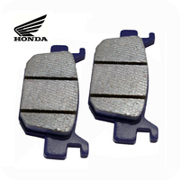 GENUINE HONDA BRAKE PAD SET, REAR (SH125i / SH150i) (06435-K01-901 /  06435-K01-902)