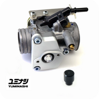 YUMINASHI 32MM B-TYPE THROTTLE BODY (WITH STAINLESS THROTTLE CABLE BRACKET) (16420-KZR-032)