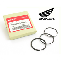 0.50 PISTON RINGS SET, GENUINE HONDA (Z100 / CZ100 / C100) (13030-001-004R)