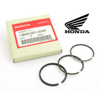 0.75 PISTON RINGS SET, GENUINE HONDA (Z100 / CZ100 / C100) (13040-001-004R)