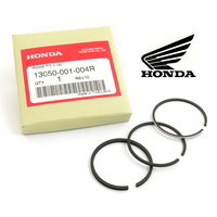 1.00 PISTON RINGS SET, GENUINE HONDA (Z100 / CZ100 / C100) (13050-001-004R)