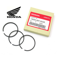 0.25 PISTON RINGS SET, GENUINE HONDA (ST70 / CT70 / C70 / SL70) (13020-087-004R)