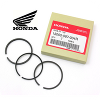 GENUINE HONDA PISTON RINGS SET Ø48MM, 1.00 (ST70 / CT70 / C70 / SL70) (13050-087-004R)