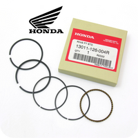 GENUINE HONDA PISTON RINGS SET Ø47MM, STD (12V. ST70 / CT70 / C70 / C90) (13011-126-004R / 13011-126-751 / 13011-126-752)