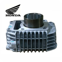GENUINE HONDA CYLINDER COMP. STD Ø52.4MM - SILVER (MONKEY 125 / C125 / WAVE125i) (12100-KYZ-710)
