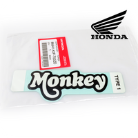 GENUINE HONDA MARK/STICKER/DECAL (MONKEY) *TYPE1*, BATTERY COVER (Z125 BLUE) (86641-K0F-T00ZD)